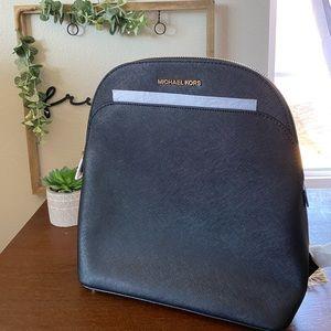 Micheal Kors Emmy Black Backpack